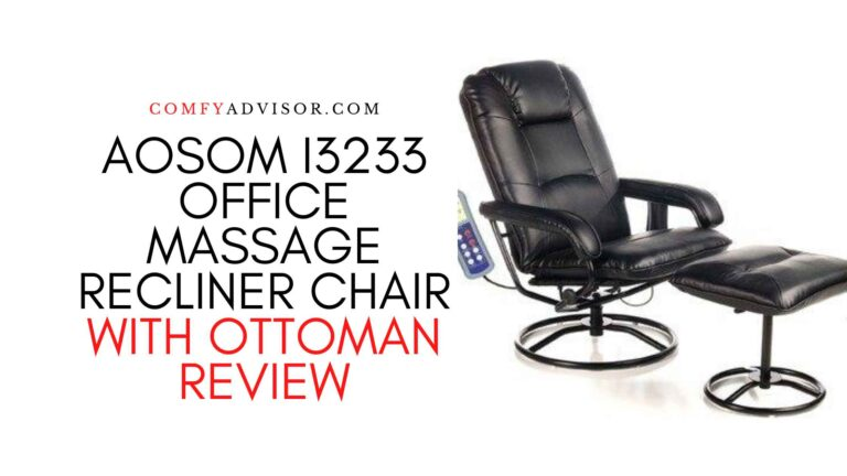 Aosom I3233 Office Massage Recliner Chair with Ottoman Review
