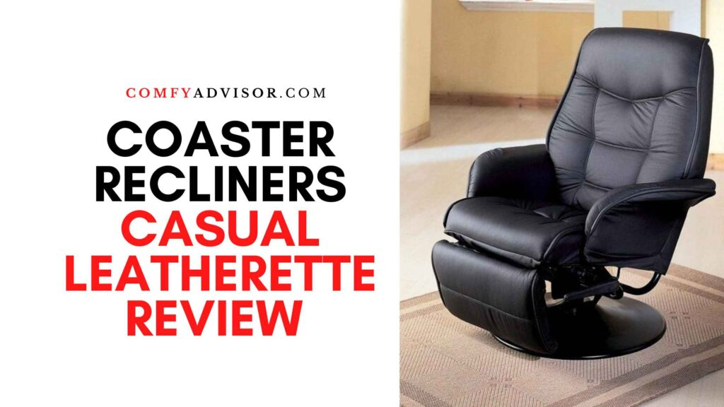 Coaster Recliners Casual Leatherette