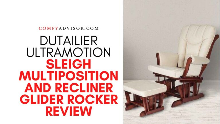 Dutailier Ultramotion Sleigh Multiposition and Recliner Glider Rocker Review