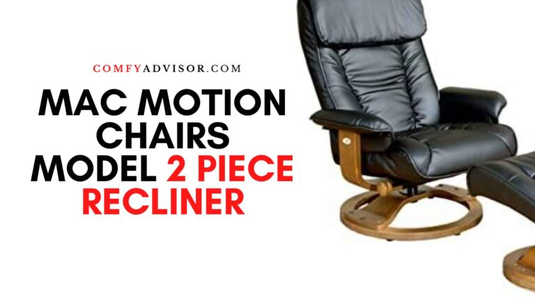 Mac Motion Chairs Model 2 Piece Recliner